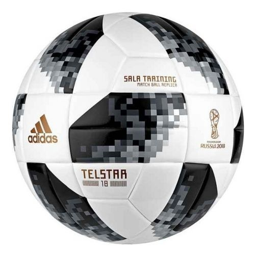 Футзальний м'яч Adidas Telstar World Cup 2018 Sala Training, артикул: CE8148