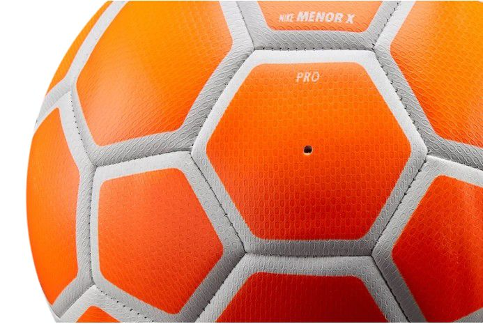 Футзальний м'яч Nike FootballX Menor Orange, артикул: SC3039-834