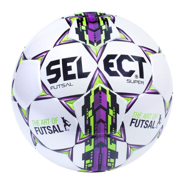 Футзальний м'яч Select Futsal Super FIFA - White, артикул: 3613430009