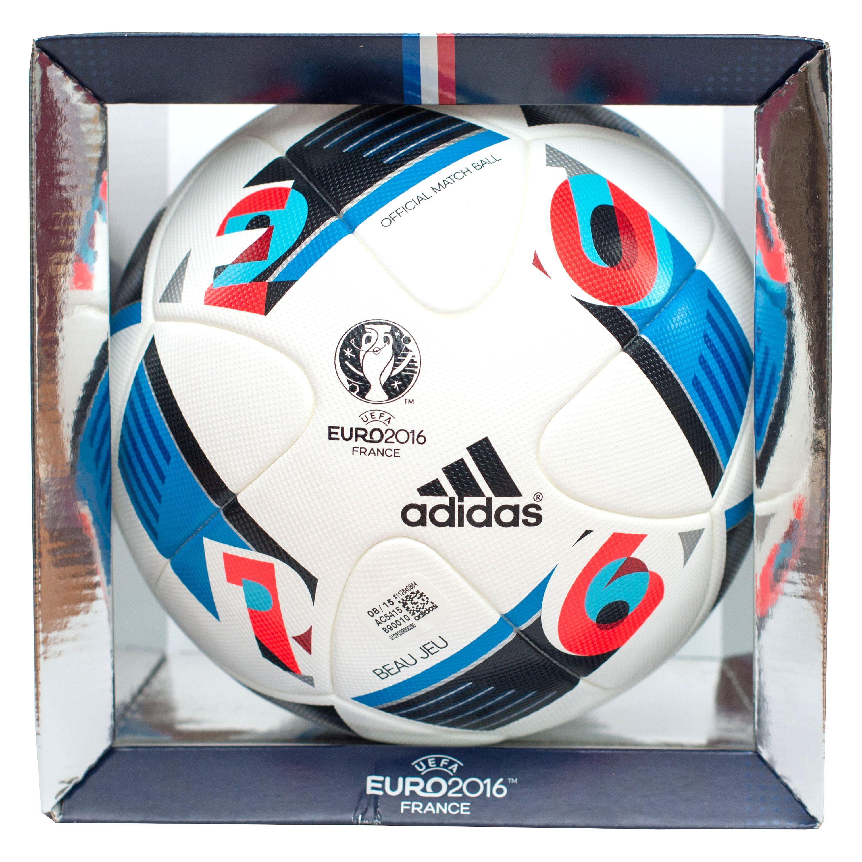 Купить футбольный мяч Adidas UEFA EURO 2016 OMB AC5415  21531eb793518