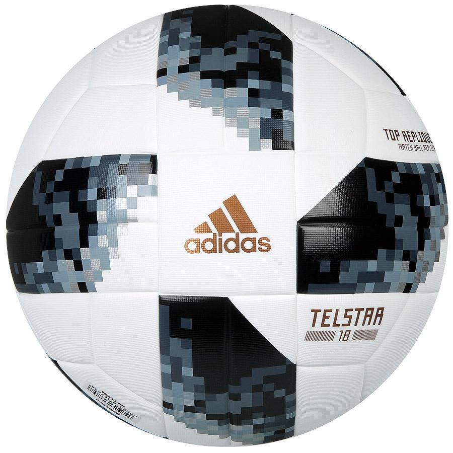 Футбольний м яч Adidas Telstar 18 Top Replique in BOX 2018 розмір 5 f308a1d256915