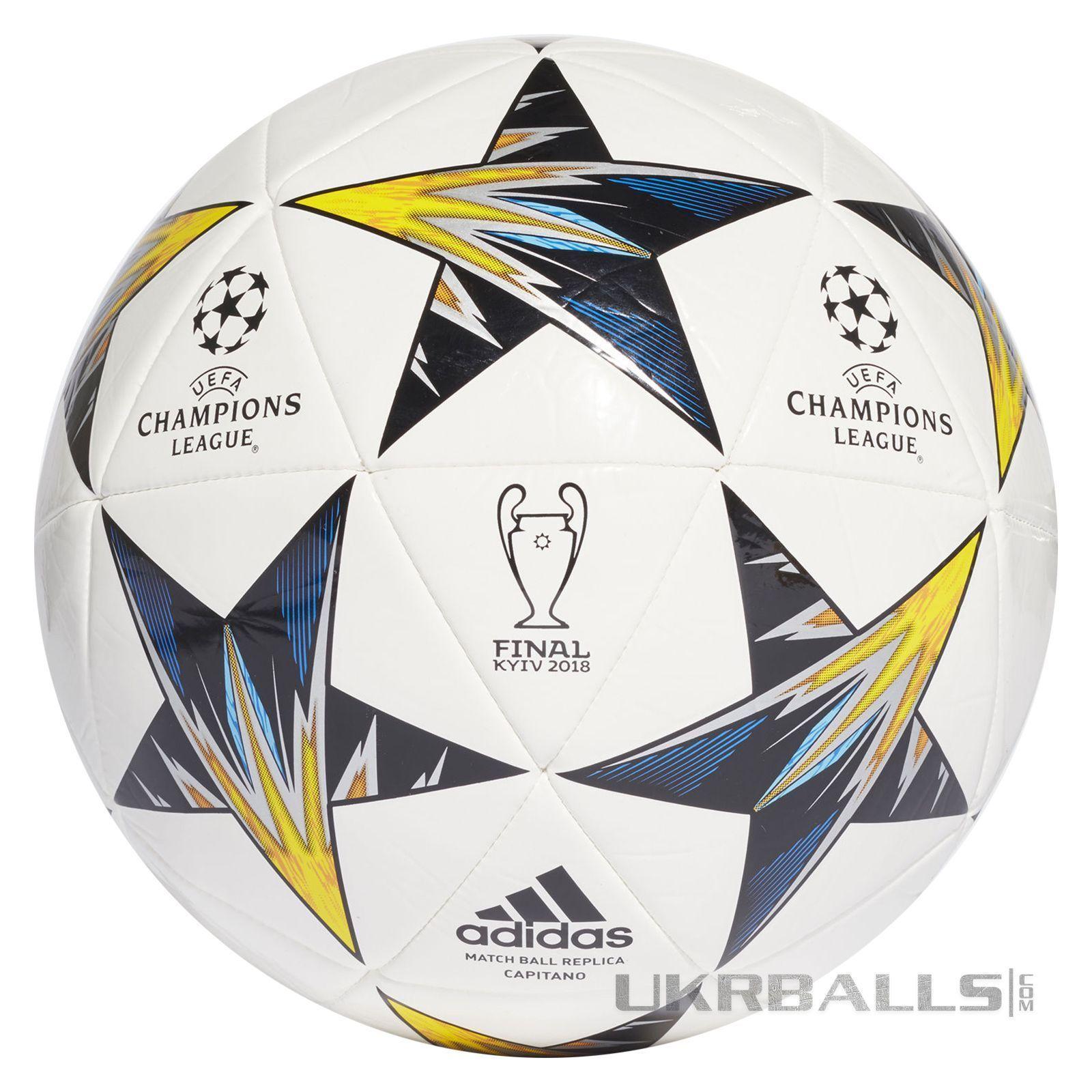 Купити футбольний м яч Adidas Finale Kiev 2018 Capitano CF1197 ... 4ae5643d51a7b