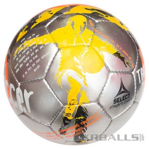 Футбольний м'яч Select Street Soccer - Grey-Orange, артикул: 0955235995 фото 1