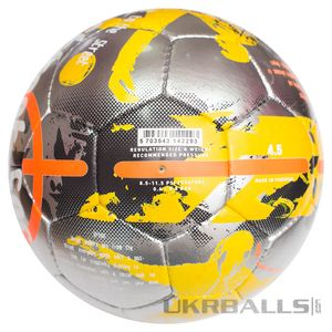 Футбольний м'яч Select Street Soccer - Grey-Orange, артикул: 0955235995 фото 4