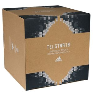 Футбольний м'яч Adidas Telstar 18 Top Replique in BOX 2018, артикул: CD8506 фото 1