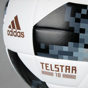 Футбольний м'яч Adidas Telstar 18 Top Replique in BOX 2018, артикул: CD8506 фото 4
