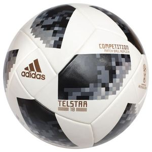 Футбольний м'яч Adidas Telstar 18 World Cup Top Competition, артикул: CE8085 фото 1