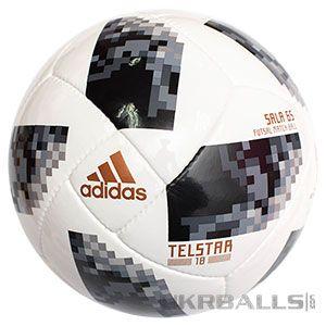 Футзальный мяч Adidas Telstar World Cup Sala 65 FIFA 2018 размер 4