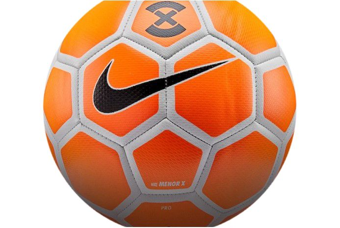 Футзальний м'яч Nike FootballX Menor Orange, артикул: SC3039-834 фото 1