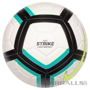 Футбольний м'яч Nike Strike LightWeight 350g, артикул: SC3126-100 фото 1