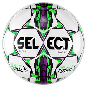 Футзальний м'яч Select Futsal Super - White артикул: 3613430009 orange