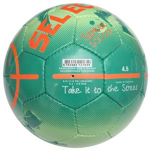 Футбольний м'яч Select Street Soccer - Green-Orange, артикул: 0955219446 фото 2