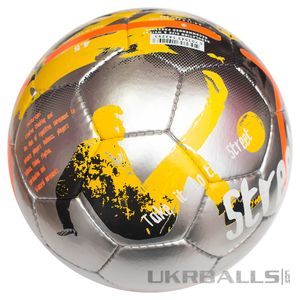 Футбольний м'яч Select Street Soccer - Grey-Orange, артикул: s_ss_grey_orange фото 3